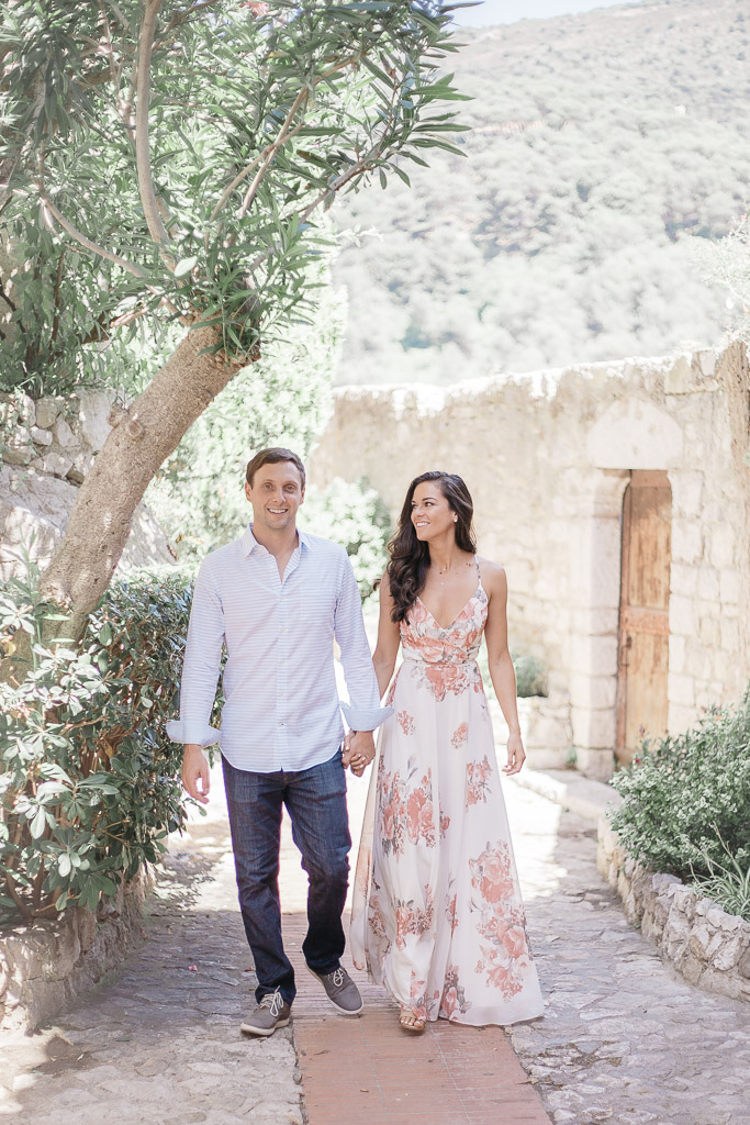 couple photoshoot eze - south of france - claire eyos