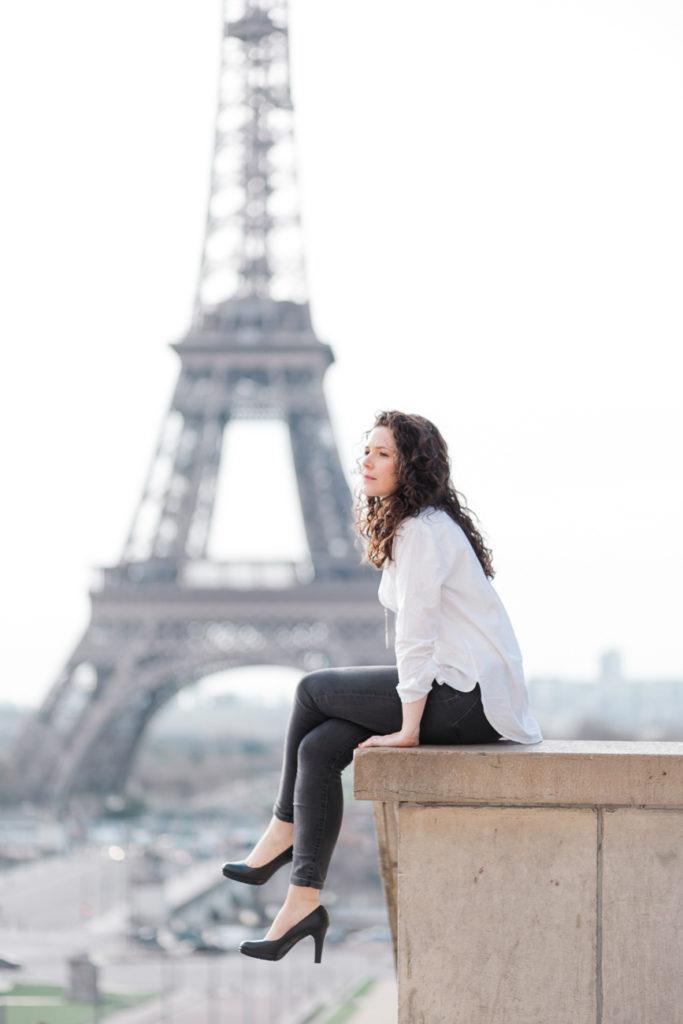 portrait eiffel tower claire eyos