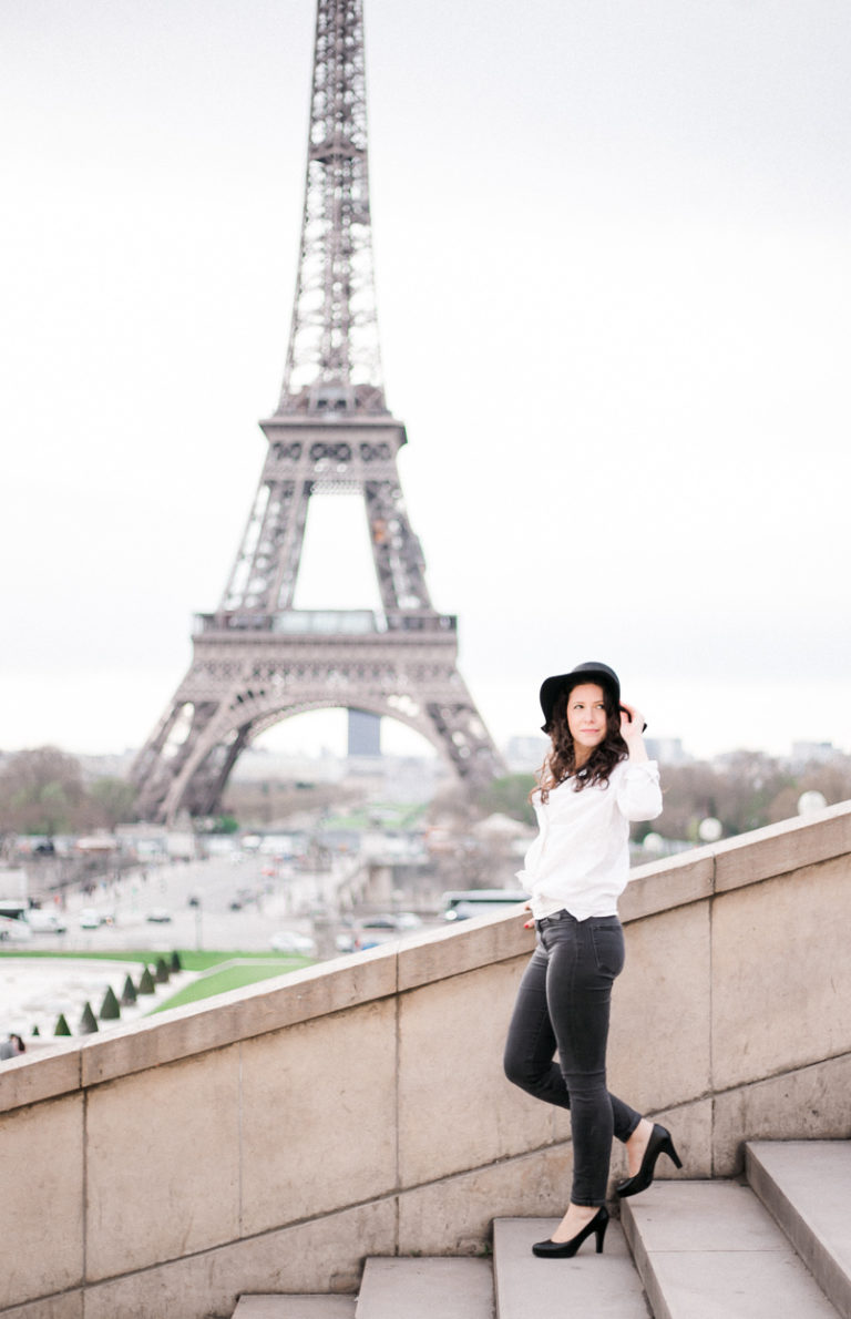 portrait eiffel tower claire eyos