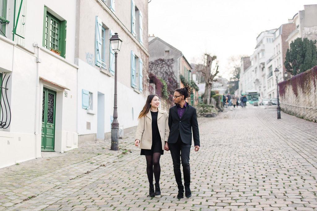Shooting in Montmartre